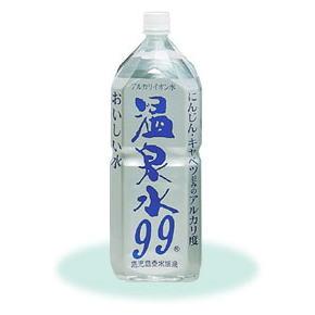 画像1: 健康のため水分補給「鹿児島垂水の温泉水99・2リットルペット6本入」