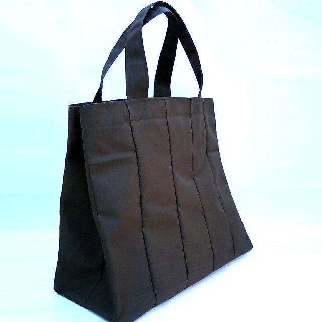画像1: 畳屋さんが造った「畳縁の大人気エコバッグ」黒色
