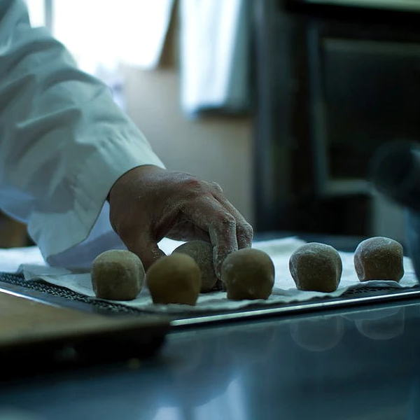 画像3: キッコーマン丸大豆しょうゆを使った「しょう油饅頭」10個入り