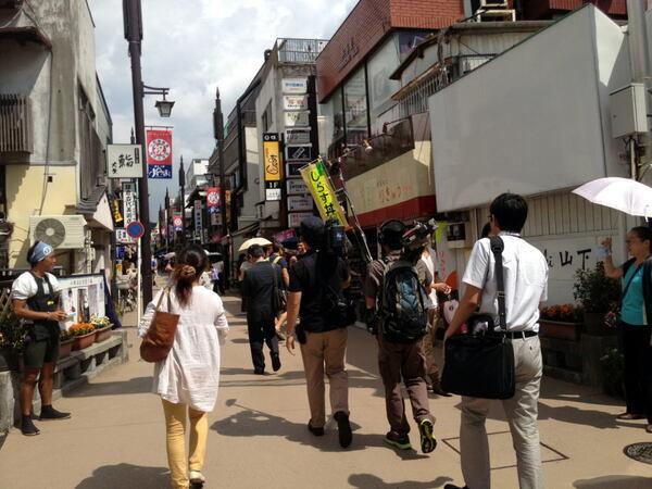 鎌倉小町通り商店街視察