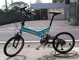 初代の折りたたみ自転車