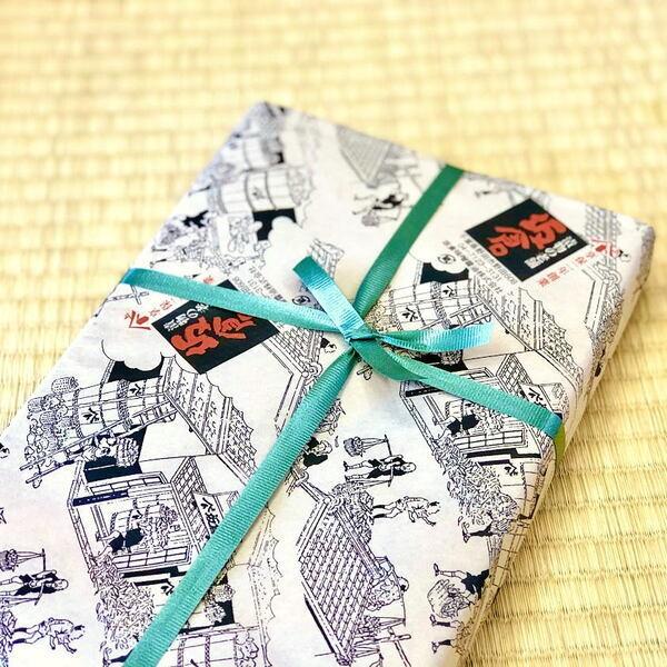 野田市・老舗の坂倉の包装
