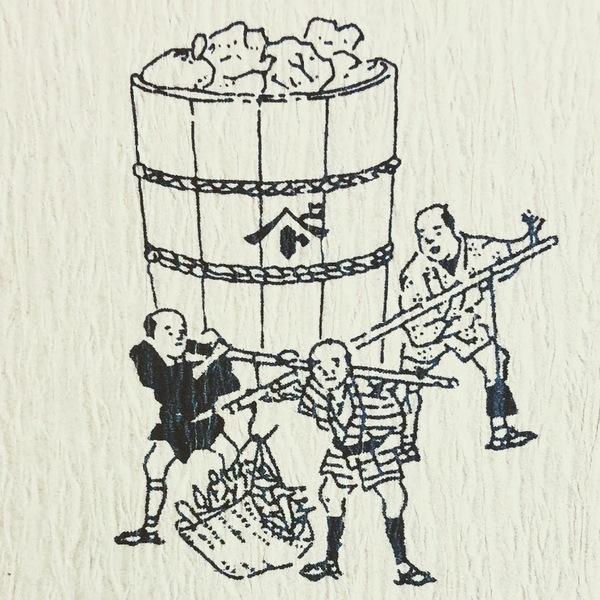 坂倉の醸造の様子