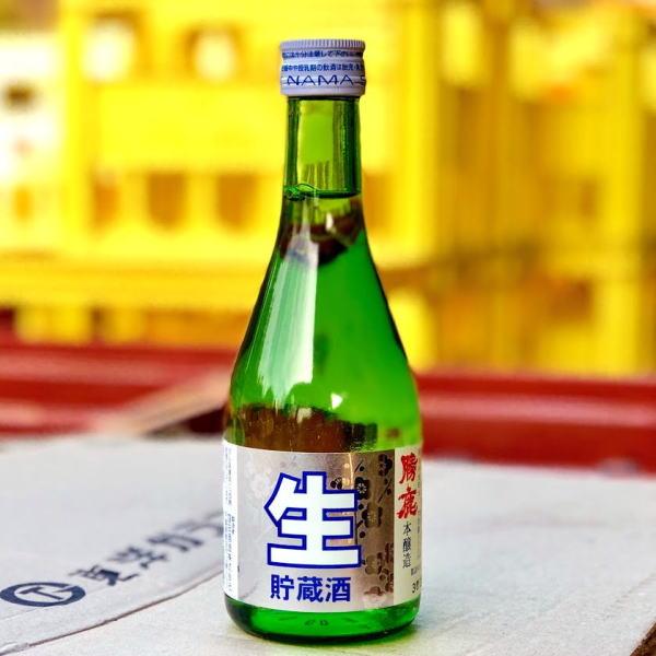 勝鹿・上撰本醸造・生貯蔵酒300ml